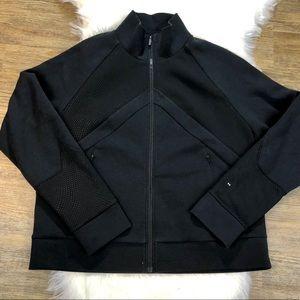 Under Armour Black Zipper Jacket in sz XL